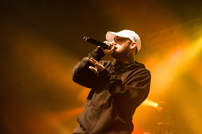 Mac Miller vibes through his set. Photo: ColtonMarsalaPhotography.com