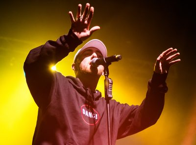 Mac Miller's animated hand gestures mesmerized Tuesday night's audience. Photo: ColtonMarsalaPhotography.com