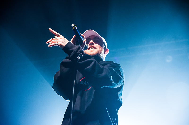 Mac Miller, SOULECTION, Clockwork, The Whooligan @ Saltair 11.01