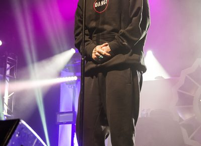 Mac Miller performed a good balance of old classics and new material from his latest album Devine Feminine. Photo: ColtonMarsalaPhotography.com
