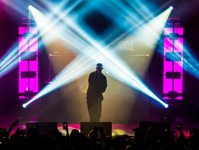 Year after year, Mac Miller's stage production continues to elevate. Photo: ColtonMarsalaPhotography.com