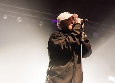 Mac Miller lights up the SLC stage. Photo: ColtonMarsalaPhotography.com