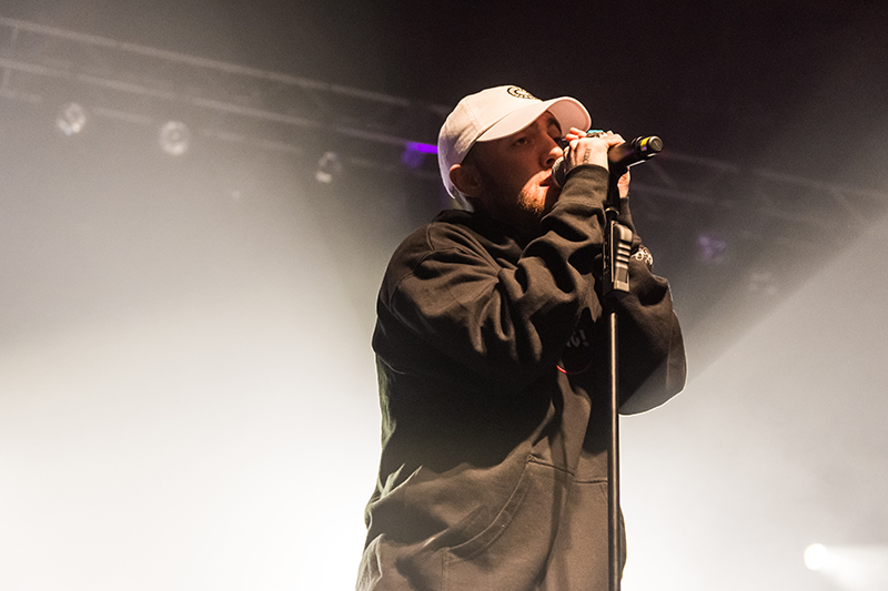 Mac Miller lights up the SLC stage. Photo: ColtonMarsalaPhotography.com