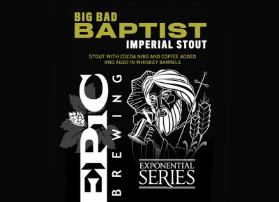 Big Bad Baptist - Imperial Stout | Epic Brewing