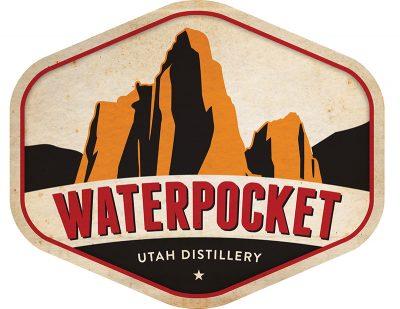 The Waterpocket Distillery logo.