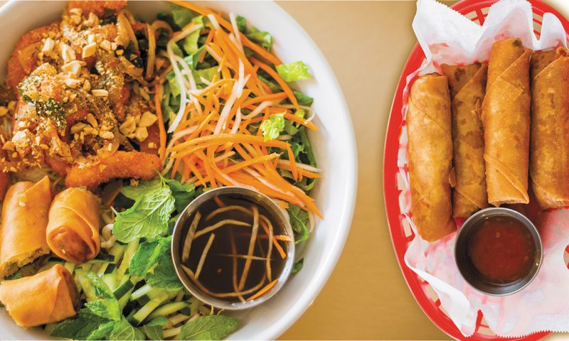 "From their ""Egg Rolls"" to the Ocean Love Noodle Salad, All Chay charms patrons with their vibrant, vegan Vietnamese fare."