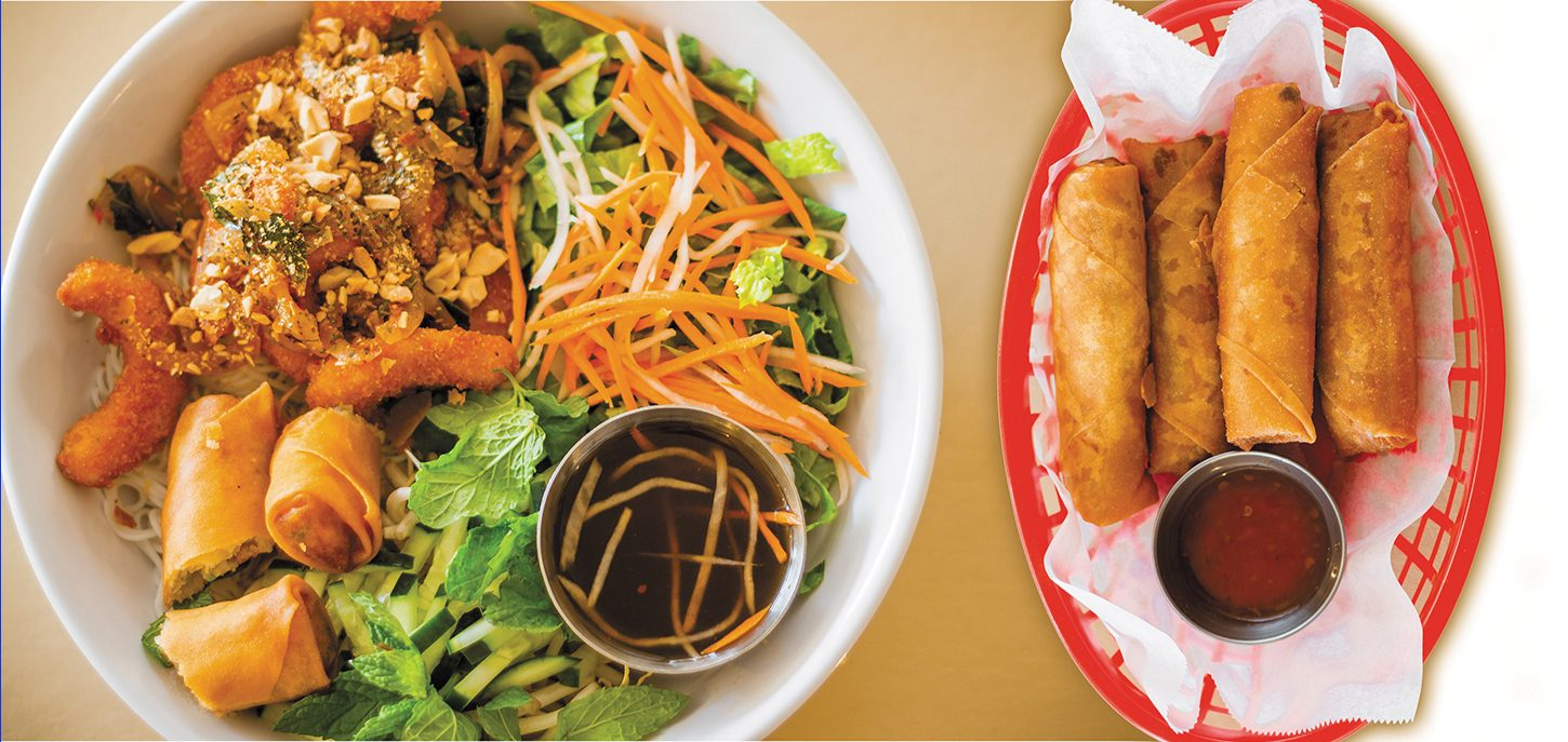 """From their """"Egg Rolls"""" to the Ocean Love Noodle Salad, All Chay charms patrons with their vibrant, vegan Vietnamese fare."""