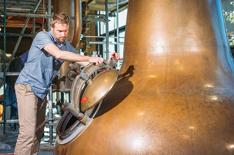 Master Distiller Brendan Coyle helps to oversee High West Distillery, which specializes in blended whiskeys and carries the most widely distributed Utah-based spirit.