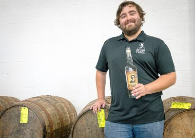 Beatty has been in the liquor game for 20 years, having previously worked for Ogden's Own.