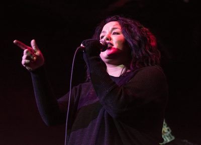 Emily Garcia kept the crowd engaged with her lyrics as the Metro began to fill. Photo: ColtonMarsalaPhotography.com