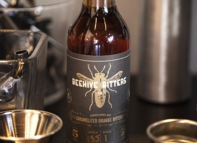 Beehive Bitters Co.'s Boubon Barrel Aged Caramelized Orange is simply delicious.