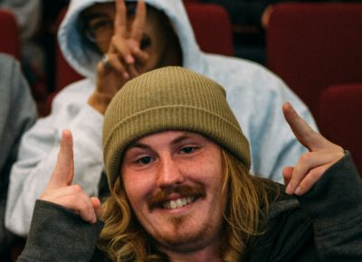 Clark Thomas (Team AD) and Jordan Vigil (Team Half & Half). Photo: Niels Jensen