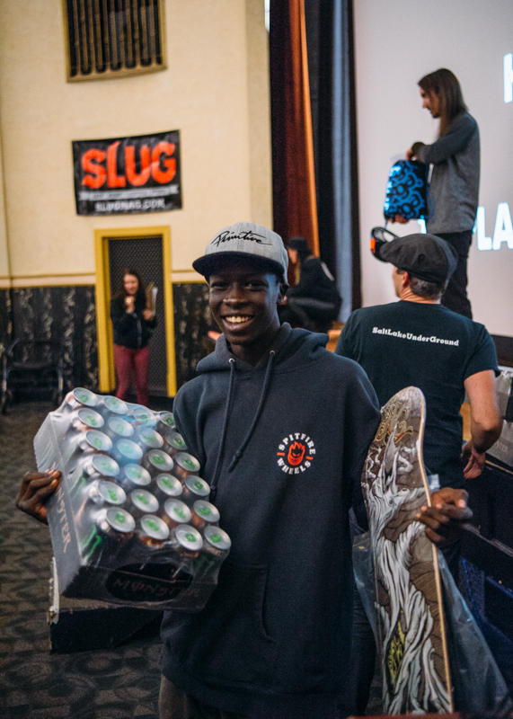 Deng Tear stoked on another winning competition. Photo: Niels Jensen