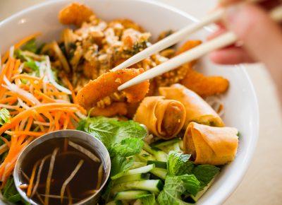 Ocean Love Noodle Salad ($8.95). Photo: Talyn Sherer