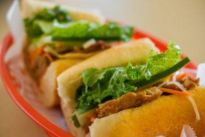 Lemongrass Tofu Banh Mi ($5.50)