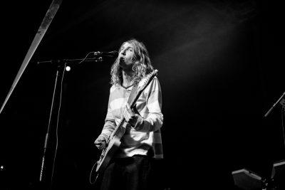 Mason James on guitar and vocals for Zipper Club. Photo: Gilbert Cisneros