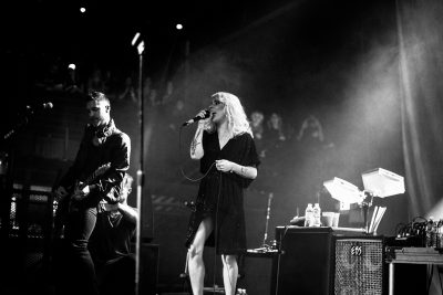 The Sounds had the crowd involved throughout the night. Photo: Gilbert Cisneros