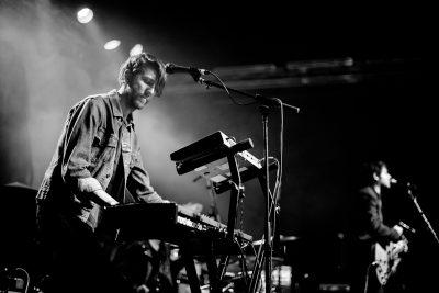 Jon Merz on keys for My Jerusalem. Photo: Gilbert Cisneros