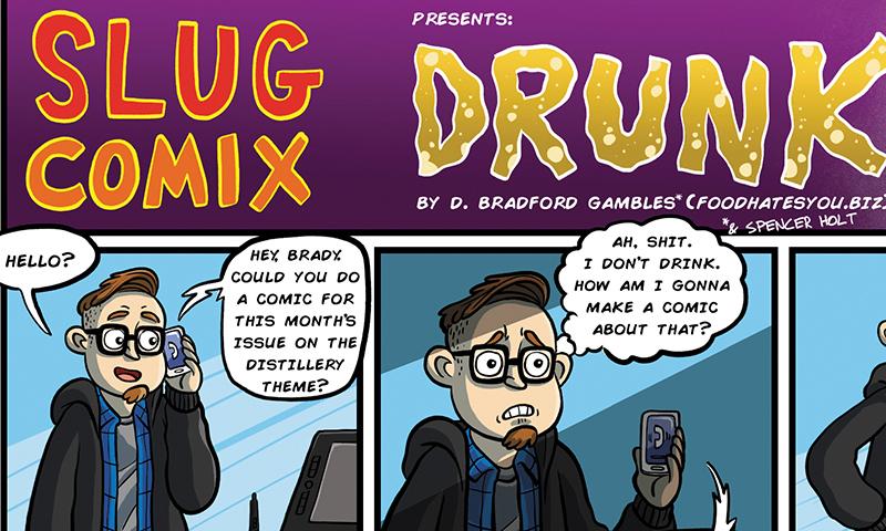 SLUG Comix: Drunk