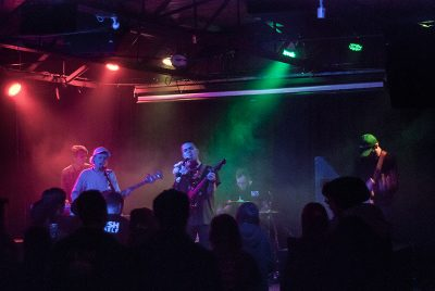 Choir Boy performing at Urban Lounge on Monday night. Photo: rachelmolenda.com