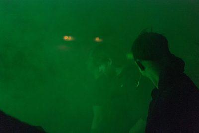 The audience dances as Soft Kill performs at Urban Lounge. Photo: rachelmolenda.com