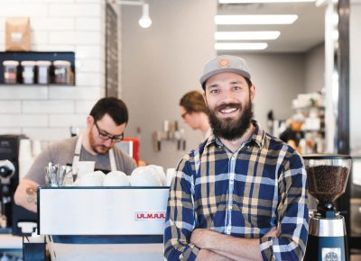 Since Derek Belnap opened 3 Cups in Holladay, the coffee establishment has become a second home for many throughout the neighborhood.