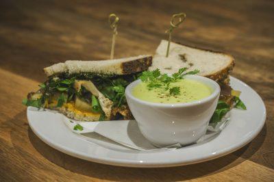 Cauliflower Sandwich | $9