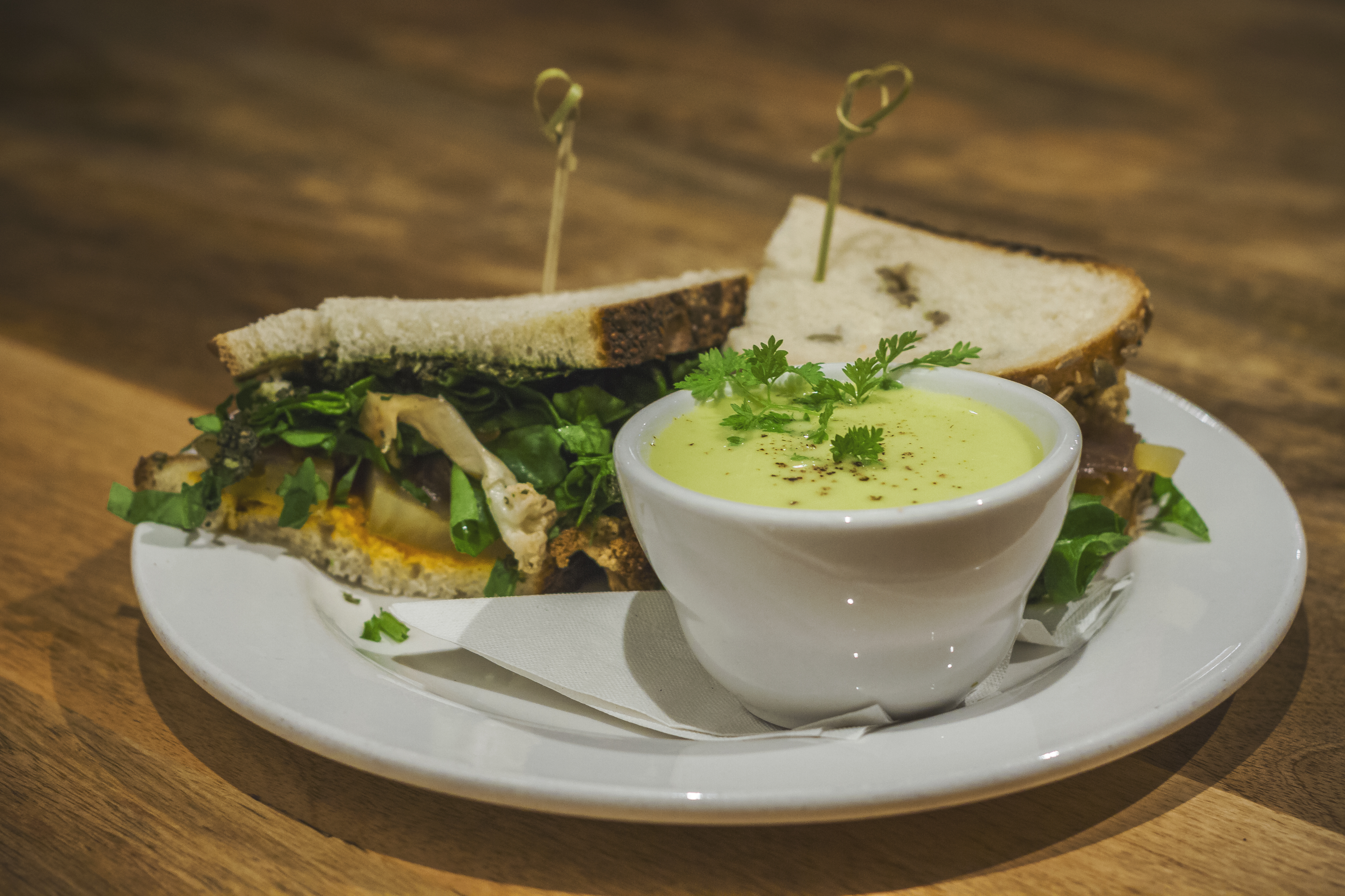 Cauliflower Sandwich | $9