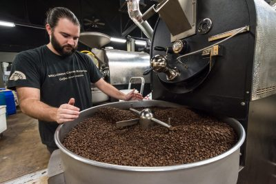 You can pick up Millcreek Coffee in a number of restaurants and businesses around Salt Lake City and surrounding areas, as well as in-house at their retail location: 657 S. Main St, Salt Lake City.