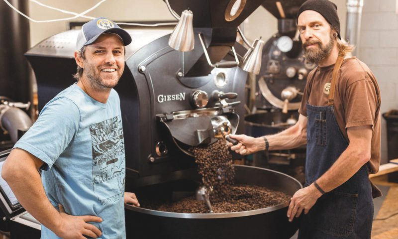 (L–R) Mark Wilson and Miguel Peterson help run Rimini Coffee with emphases on collaboration, approachability and a deep-rooted love for coffee.