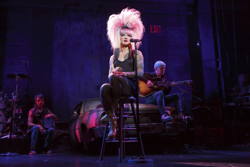 Heels, Wigs and All the Rage: Hedwig and the Angry Inch @ Eccles Theater