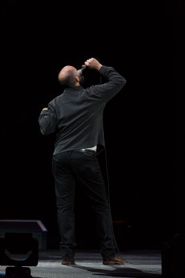 After a quick introduction, Ted Alexandro explains the hilarity that every classical music radio listener should experience. Photo: Lmsorenson.net