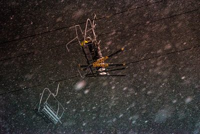 Skiers representin'! Photo: Jo Savage // @SavageDangerWolf