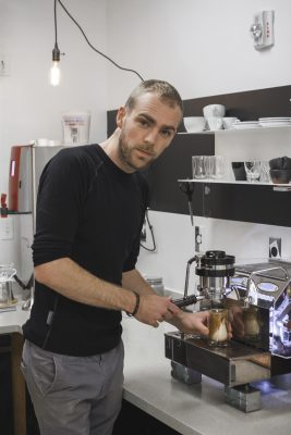 Simon Zivny's simple, coffee-centric specialty drinks are each crafted with devotion, time and care.