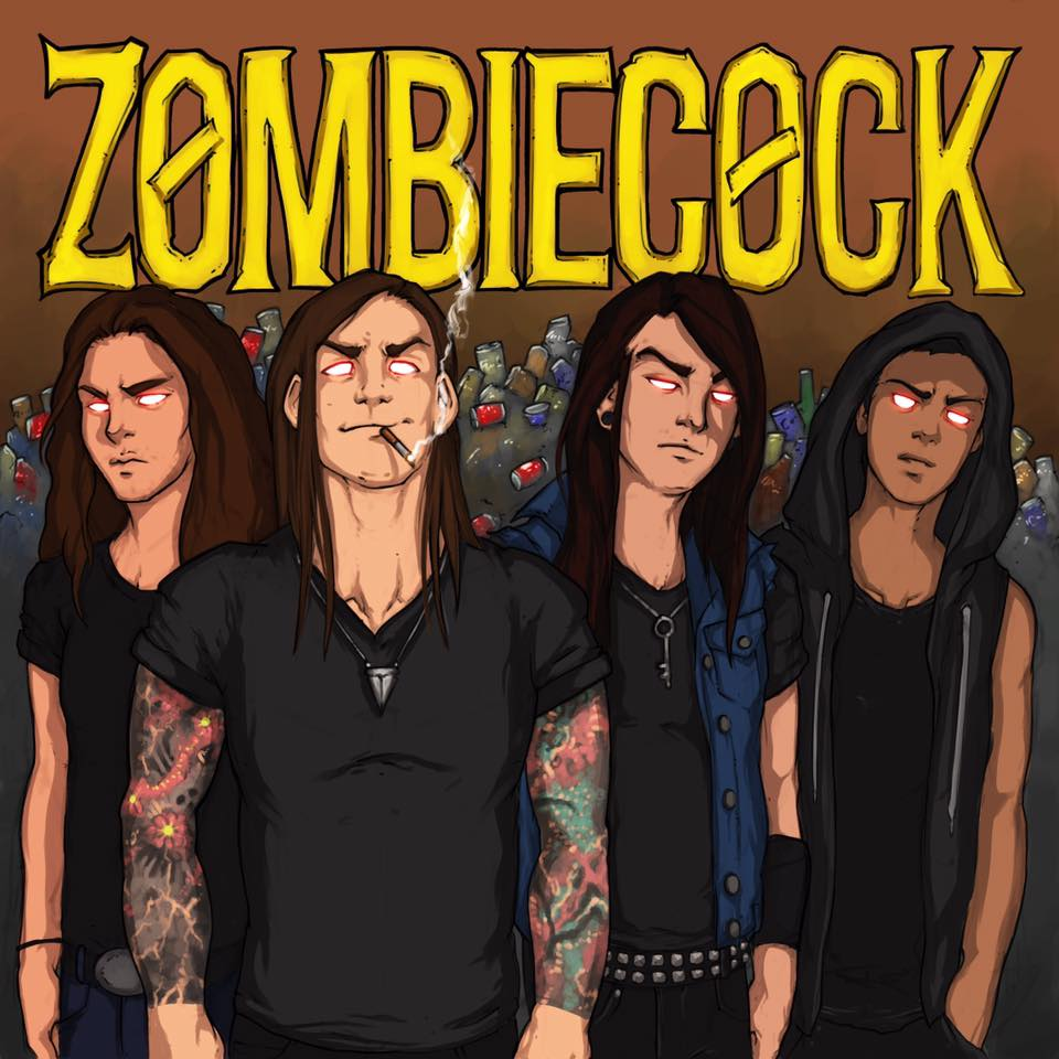 Local Review: Zombiecock – Self-titled