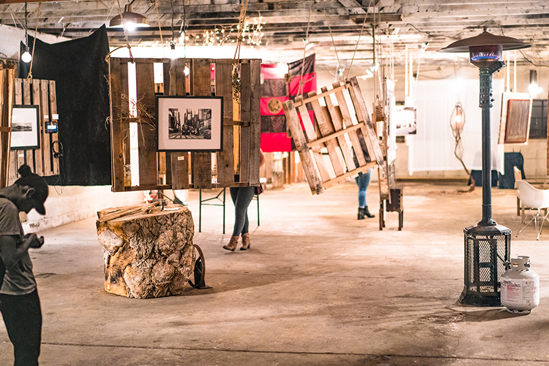 Dennis, Douglas and their team converted an old warehouse attached to the brewery into a classy and intricately interactive gallery space. Photo: Jo Savage // @SavageDangerWolf