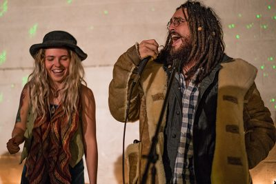 Shanin Blake had guest performer Jamal join her onstage. Photo: Jo Savage // @SavageDangerWolf