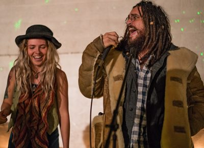 Shanin Blake had guest performer Jamal join her onstage. Photo: Jo Savage // @SavageDangerWolf