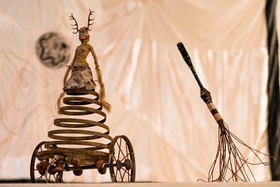 Zane Anderson exhibited some cool metal sculptures. Photo: Jo Savage // @SavageDangerWolf