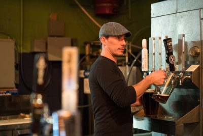 Anthony DiMeo was the only bartender at Shades of Pale—and no one had to wait. Skills. Photo: Jo Savage // @SavageDangerWolf