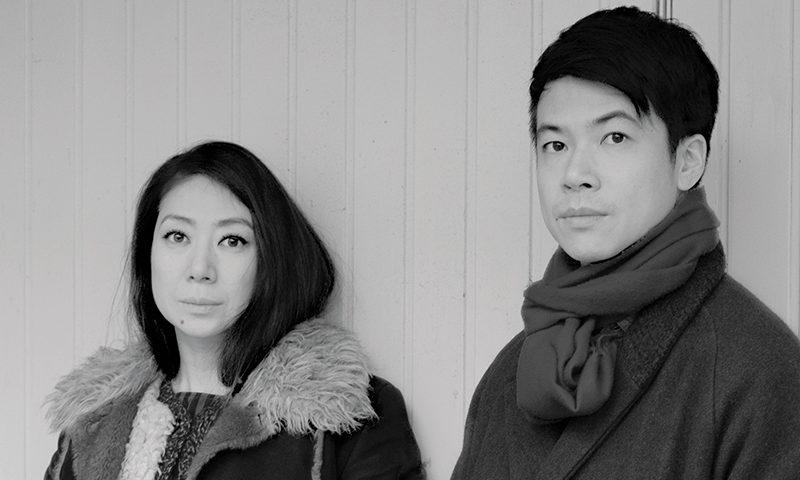 (L–R) Kuro directors and writers Tujiko Noriko and Joji Koyama. Photo: Ayami Awazuhara