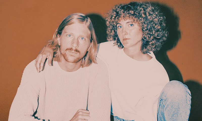 (L–R) Patrick Riley and Alaina Moore of Tennis will hit The State Room on March 3. Photo: Luca Venter