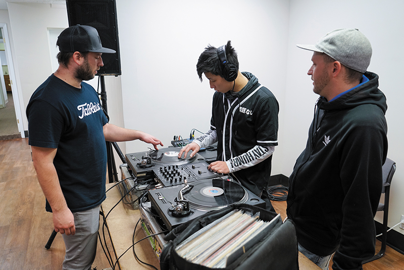 Educating the Next Generation of Disc Jockeys