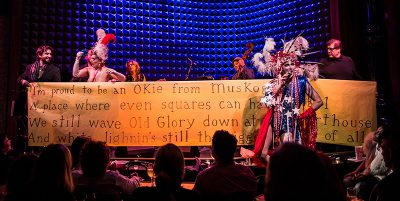Songs of the American Right. Photo: Kevin Yatarola