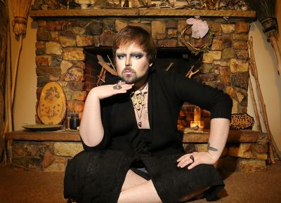 The Harlot is a beautiful and bearded, Las Vegas–grown queen. Photo: ThatGuyGil