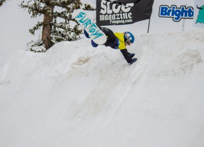 Henry Hawkins 1st place 17& under mens snow Hand plant. Photo CJ Anderson
