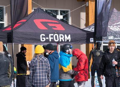 G-Form was another awesome sponsor who set up a booth at the event. Photo: Jo Savage // @SavageDangerWolf