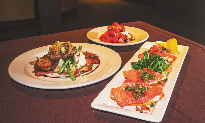 Oasis Cafe's dishes highlight fresh ingredients with a twist and are sure to make you swoon. Photo: Talyn Sherer