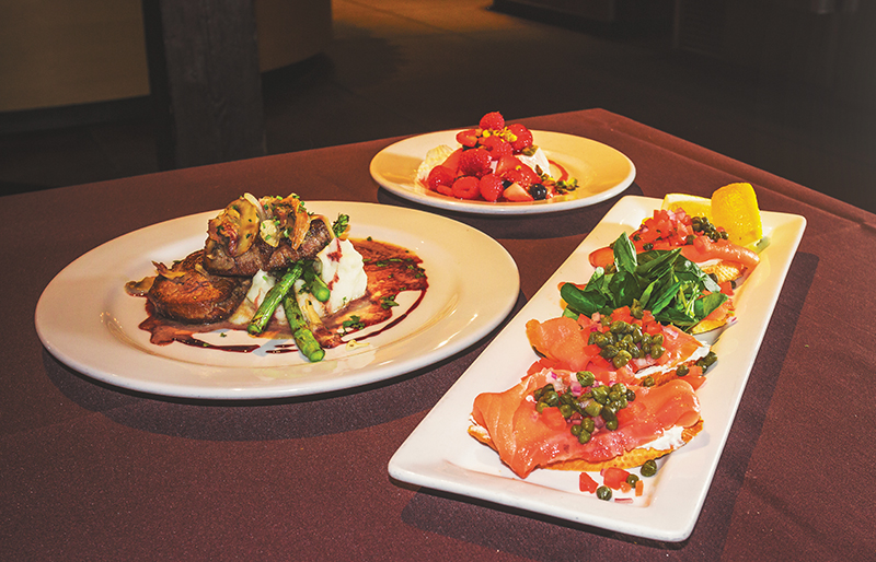 Oasis Cafe's dishes highlight fresh ingredients with a twist and are sure to make you swoon.
