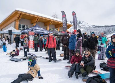 Participants and spectators watched the competition. Photo: Jo Savage // @SavageDangerWolf